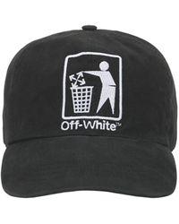Off-White c/o Virgil Abloh - Бейсбольная Кепка С Логотипом - Lyst