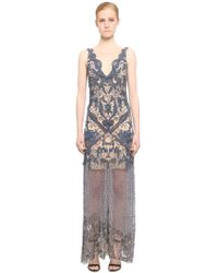 Fabiana Milazzo | Embellished Tulle Dress | Lyst