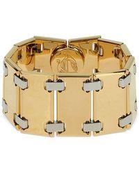 Lanvin Gourmet Articulated Bracelet - Metallic