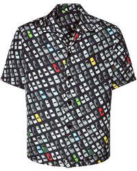 Bottega Veneta Рубашка Из Вискозы И Шелка - Многоцветный