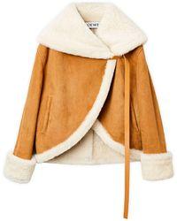 Loewe Куртка Из Овчины - Многоцветный