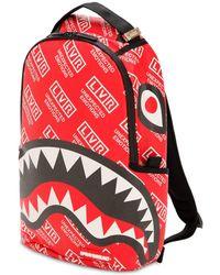 ca7c98c3351 Sprayground - Lvr Edition Small Logo Printed Backpack - Lyst