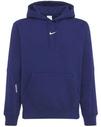 """Nike Essential-hoodie """"nocta"""" - Blau"""