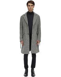 Route Des Garden Resca Laces Wool Coat - Grau