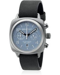 Briston - Clubmaster Chrono Steel Watch - Lyst