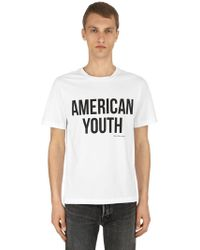 Calvin Klein Jeans - American Youth Cotton Jersey T-shirt - Lyst