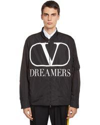 Valentino Dreamers Vロゴジャケット - ブラック