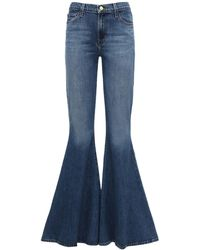 "J Brand Superweite Jeans ""jbrand X Halpern"" - Blau"