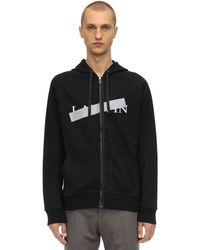 Lanvin ロゴ ジャケット - ブラック
