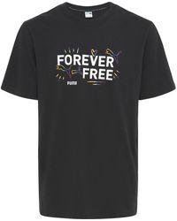 PUMA Pride コットンジャージーtシャツ - ブラック