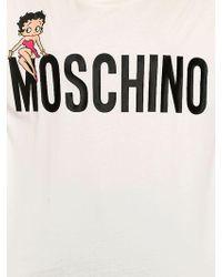 Moschino - Oversized Betty Boop Jersey T-shirt - Lyst