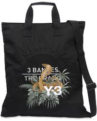 Y-3 - Cobra Embroidered Tote Bag - Lyst