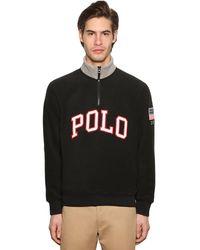 Polo Ralph Lauren - Sweatshirt Aus Technostoff Mit Logo - Lyst