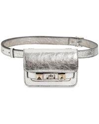 Proenza Schouler Ps11 Metallic Leather Belt Bag