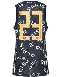 Nike Jordan Psg Printed Tech Mesh Jersey - Black