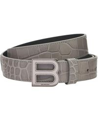 Balenciaga - Кожаный Пояс Hourglass 25mm - Lyst
