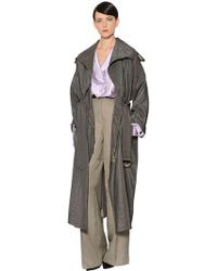Nina Ricci Parachute Trench Coat - Multicolour