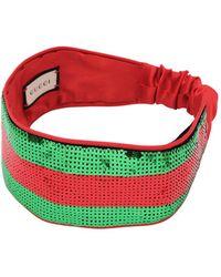 Gucci   Shineweb Sequined Headband   Lyst