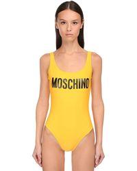 Moschino ワンピース水着 - イエロー