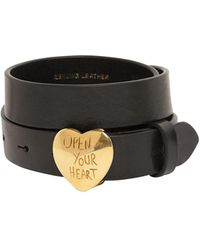 DSquared² - Open Your Heart バックルレザーベルト - Lyst