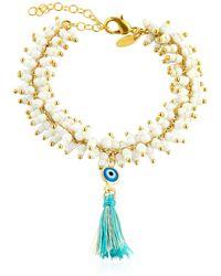 Chanael K - Evil Eye Bracelet - Lyst
