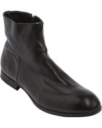 Preventi - Zip-up Leather Boots - Lyst