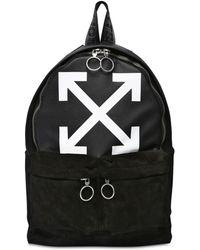Off-White c/o Virgil Abloh - Logo Print Backpack - Lyst