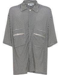 Sunnei ビスコースシャツ - ブラック