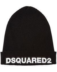 DSquared² - Шерстная Шапка - Lyst