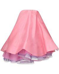 Nina Ricci Mehrschichtiges Kleid - Pink