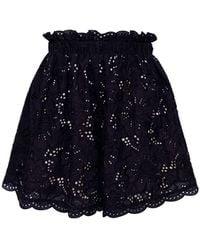 Underprotection Zoe Organic Cotton Shorts - Black