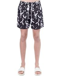 Amiri Playboy Allover Print Tech Shorts - Black