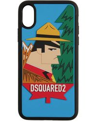 "DSquared² Iphone X-cover ""canada"" - Schwarz"