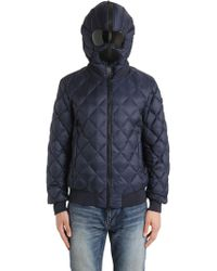 Ai Riders On The Storm - Quilted Micro Ripstop Down Bomber Jacket - Lyst