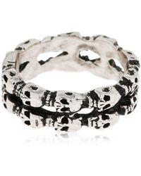 Alcozer & J - Skull Ring - Lyst