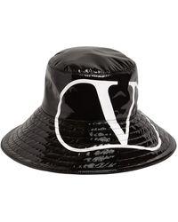 Valentino Garavani ウォータープルーフバケットハット - ブラック