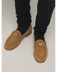 Rhude Loafers Aus Wildleder - Natur