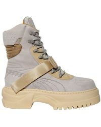 PUMA | Winter Leather Boots | Lyst