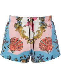 Versace Шорты Для Плавания - Многоцветный