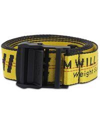 Off-White c/o Virgil Abloh 35mm Nylon Industrial Belt - Amarillo