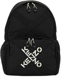 KENZO - Sac À Dos Logo Brodé - Lyst
