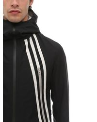 "Y-3 Jacke ""3-stripes Nylon Gore-tex Infinium"" - Schwarz"
