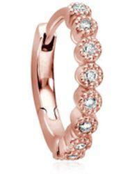 Stone Paris - Madame Bovary Tiny Hoop Mono Earring - Lyst