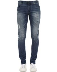 Armani Exchange Джинсы 12oz Medium Blue Wash - Синий