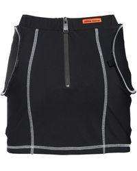 Heron Preston ストレッチジャージーミニスカート - ブラック