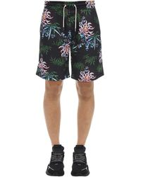 KENZO Technical All Over Floral Short - Black
