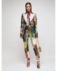 Dolce & Gabbana Жаккардовая Куртка С Принтом - Многоцветный