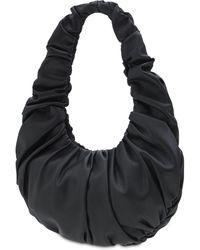 Nanushka Anja Baguette エコレザーショルダーバッグ - ブラック