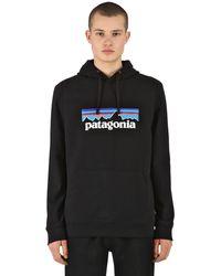 Patagonia Schwarzer P-6 Logo Uprisal Herren Hoody