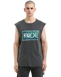 Alchemist T-shirt Aus Baumwolle Mit Druck - Schwarz